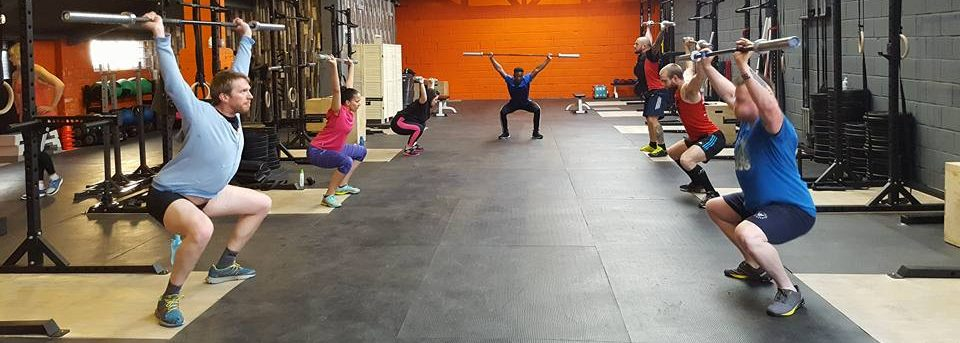 Snatch Drills at Infiniti Fitness Gym - CrossFit Trafford